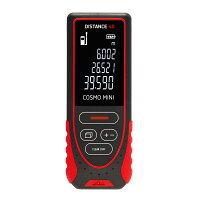 レーザー距離計 Cosmo mini40  40m測定可 スコープ距離計 距離測定器 建築/測量 大工/内装業者用 測距 距離計 コンパクト プロ仕様 高精度 面積/体積 ピタゴラス 単回/連続 最大/最小測定 屋外用 測定基準切替 送料無料