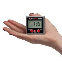 加速度センサー搭載デジタル水平器 プロデジマイクロ 測量用品 計測 /レベル 水平器/デジタル水平器 0.05° IP54 測定器 アングルメーター °/%切り替え 測定 部磁石付き  比較モード(0セット) ホールド 送料無料