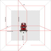 レーザー墨出し器 サーボライナー 電子整準式 フルライン4V4HD/地墨/大矩/受光器対応/墨出器/測量/測定器/建築/墨出し機/墨出機/レーザーレベル/レーザーライン/墨出しレーザー/すみだし/レーザーレベル/レーザー水平器/送料無料/日本語取扱説明書