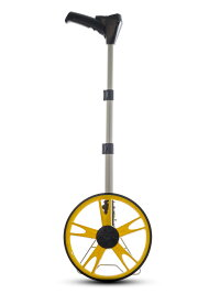 伸縮式デジタルウォーキングメジャー1000[測量用品 計測 液晶表示式 コンパクト収納 自立スタント 10cm表示 大きい車輪 送料無料]日本語取説付き