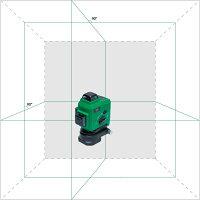グリーンレーザー墨出し器 円錐ミラー トップラインナー3×360° リチウムバッテリー仕様 フルライン4V4HD/受光器対応/シームレス/高輝度/大矩/鉛直/レーザーレベル/墨出器/オートラインレーザー/墨出しレーザー/自動補正/墨出し機 /墨出機/レーザー水平器/送料無料