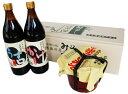 【送料無料】兵庫県産原料使用の丸大豆醤油・味噌ギフトK-35...
