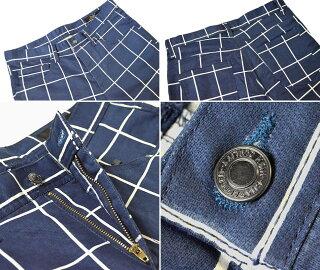 スキニーパンツ5ポケットスキニーメンズ裏ドビーサテンを使用したしっかりとした素材感脚長脚細美シルエットスリムパンツ綿コットンストレッチカジュアルウィンドウペン無地白黒ネイビーカモフラ迷彩柄10P05Oct15