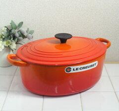**【直輸入43%OFF】ル・クルーゼ ココットオーバル29cm<オレンジ>
