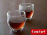 ボダム bodum パヴィーナ ダブルウォールグラス   2個セット < 250mL > 4558-10 【 BODAMU pavina 】