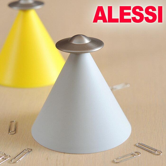 \2/15限定!エントリーで最大P19倍♪/【期間限定SALE特価!】アレッシィ ALESSI Spettro スプレット クリップホルダー SPETTRO ペーパークリップホルダー ( MGIR01-LG ) ライトグレー アレッシー イタリア 北欧
