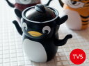 **【最終処分 75%OFF】TVS/ティーヴィーエス アースシリーズ 2段ポット<ペンギン>