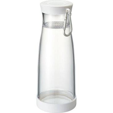 ツインキャップクリアボトル(550ml) TS-1344-044ホワイト