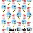 《1.5mまでメール便送料無料》MARIMEKKO マリメッコ KARKUMATKA カルクマトカ 生地 (30cm以上〜10cm単位で切り売り) 《 ファブリック 》 【北欧 布 】