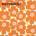 RoomClip商品情報 - 【送料無料】生地 マリメッコ ピエニウニッコ2 オレンジ MARIMEKKO marimekko【数量3個(=生地30cm)以上でご注文ください】30cm以上から10cm単位で切り売り