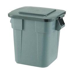 スクエア・ブルートコンテナ No.3536 597×597×H730mm <グレー>【 アドキッチン 】 [フタ別売り] ごみばこ ごみ箱