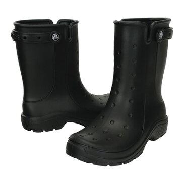 クロックス レニー2.0ブーツ16010 24cm ブラック CROCS crocs くろっくす レインブーツ レインシューズ メンズ レディース 長靴 梅雨