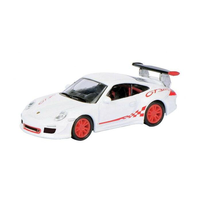 Schuco/シュコー ポルシェ 911 GT3 RS (997) ホワイト/レッド 1/87スケール 452609200