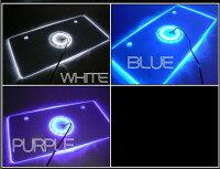 LED12灯LEDアクリルナンバープレートフレーム