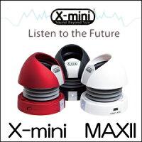 X-miカプセルステレオスピーカーX-miniMAX