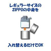 Z-plus入れ替えるだけでZIPPOをターボライターに!