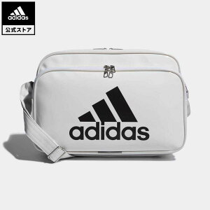 【公式】アディダス adidas 返品可 ジム・トレーニング エナメルバッグ M レディース メンズ アクセサリー バッグ・カバン ショルダーバッグ 白 ホワイト CX4041 eoss21ss