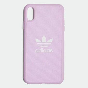【公式】アディダス adidas iPhone Xs Max 6.5インチ用 キャンバスケース / Canvas Molded Case iPhone Xs Max 6.5-Inch オリジナルス レディース メンズ アクセサリー iPhoneケース ピンク CL2367 p1016