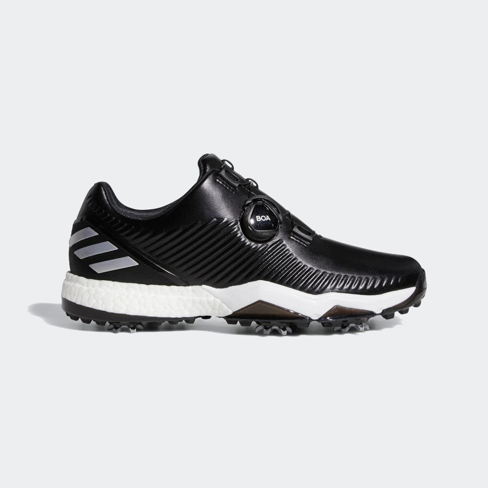 【公式】アディダス adidas ゴルフ アディパワーフォージドボア【ゴルフ】 メンズ シューズ スポーツシューズ 黒 ブラック BD7141 スパイクレス