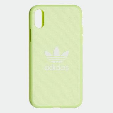【公式】アディダス adidas X/XS iphonecase オリジナルス レディース メンズ アクセサリー iPhoneケース イエロー CL4891 p1016