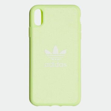 【公式】アディダス adidas XS Max iphonecase オリジナルス レディース メンズ アクセサリー iPhoneケース イエロー CL4895 p1016