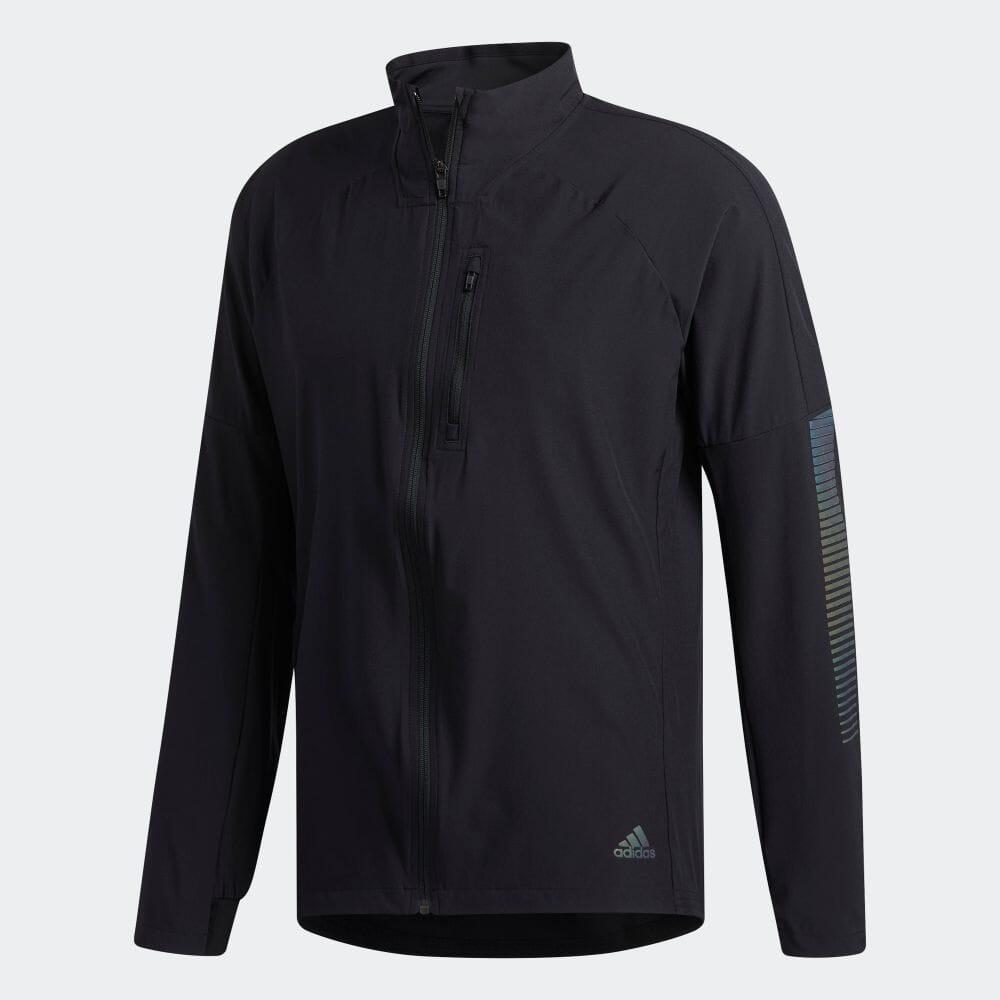 【公式】アディダス adidas ランニング ライズアップ N ラン ジャケット / Rise Up N Run Jacket メンズ ウェア アウター ジャケット 黒 ブラック DZ1575 ランニングウェア p1016