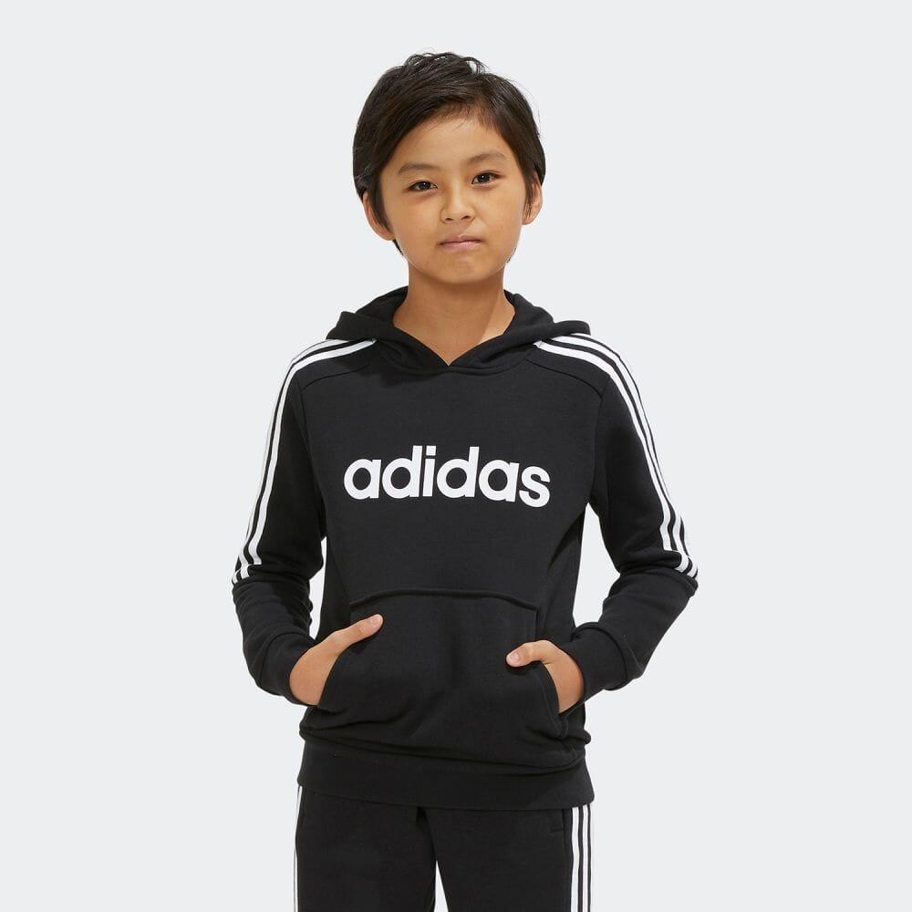 【公式】アディダス adidas スリーストライプス パーカー / 3-Stripes Hoodie メンズ ウェア トップス パーカー スウェット 黒 ブラック EI7971 トレーナー p1016