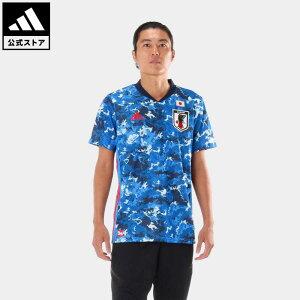 【公式】アディダス adidas 返品可 サッカー サッカー日本代表 2020 レプリカ ホーム ユニフォーム / Japan Home Jersey メンズ ウェア・服 トップス ユニフォーム 青 ブルー ED7350 notp