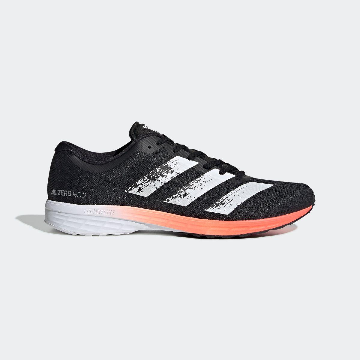 【公式】アディダス adidas ランニング アディゼロ RC 2.0 / Adizero RC 2.0 メンズ シューズ スポーツシューズ 黒 ブラック EE4337 スパイクレス ランニングシューズ p1016