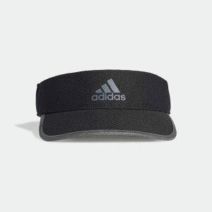 【公式】アディダス adidas AEROREADY ランナー バイザー / AEROREADY Runner Visor レディース メンズ ランニング アクセサリー 帽子 サンバイザー FK0841