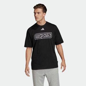 【公式】アディダス adidas アディダス アスレティクス パック ランゲージ 長袖 Tシャツ / adidas Athletics Pack Language Tee アスレティクス メンズ ウェア トップス Tシャツ 黒 ブラック FQ2106 半袖 valentine