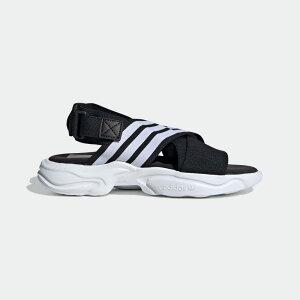 【公式】アディダス adidas Magmur サンダル / Magmur Sandals オリジナルス レディース メンズ シューズ サンダル 黒 ブラック EF5863 p1126