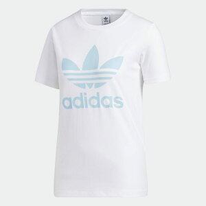 【公式】アディダス adidas トレフォイル 半袖Tシャツ オリジナルス レディース ウェア トップス Tシャツ 白 ホワイト FM3293 半袖