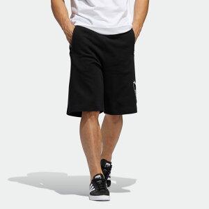 【公式】アディダス adidas シャドウ トレフォイルショーツ オリジナルス メンズ ウェア ボトムス ハーフパンツ 黒 ブラック FM1542