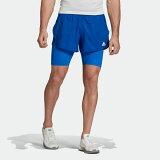 【公式】アディダス adidas ランニング HEAT. RDY ショーツ / HEAT. RDY Shorts メンズ ウェア ボトムス ショートパンツ 青 ブルー FN3342 ランニングウェア p0122