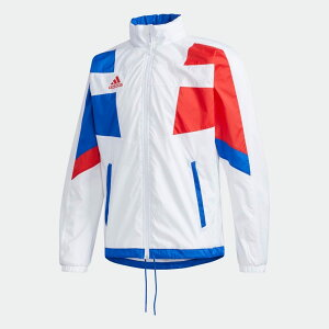 【公式】アディダス adidas テニス チームウェア ウーブン テニスジャケット / TEAMWEAR WOVEN TENNIS JACKET メンズ ウェア アウター ジャケット 白 ホワイト FS3803