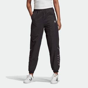 【公式】アディダス adidas ラージロゴ トラックパンツ(ジャージ) オリジナルス レディース ウェア ボトムス ジャージ パンツ 黒 ブラック GD2417 下 dance