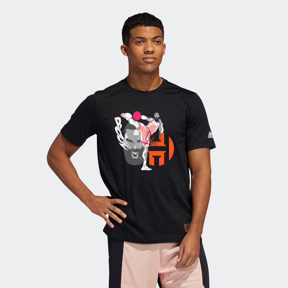 メンズウェア, プラクティスシャツ  adidas T Harden Geek Up Kick Tee T GE4118