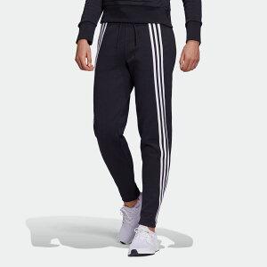 【公式】アディダス adidas 3ストライプス ダブルニット ジッパーパンツ / 3-Stripes Doubleknit Zipper Pants アスレティクス レディース ウェア ボトムス パンツ 黒 ブラック FR5114