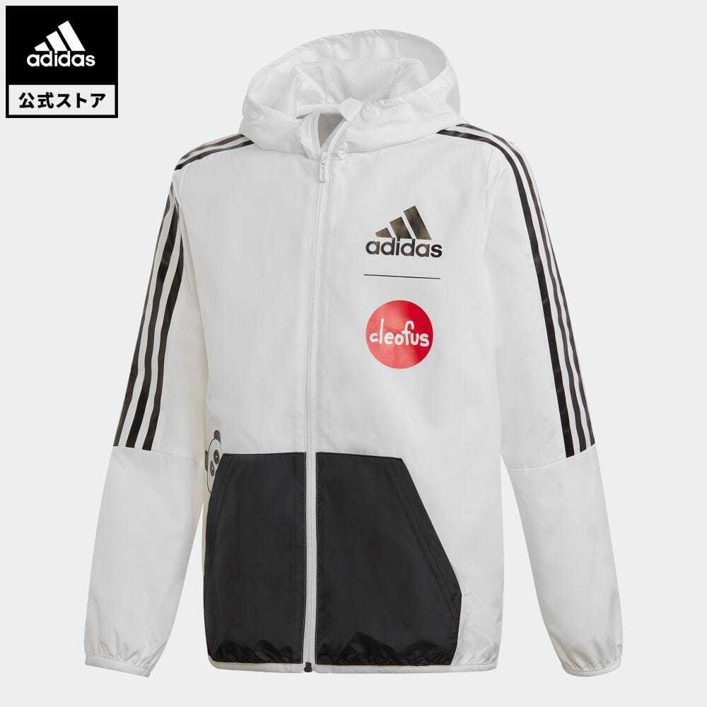 キッズファッション, コート・ジャケット  adidas Cleofus Jacket GG3657 coupon0429