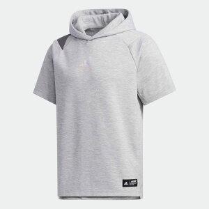【公式】アディダス adidas 野球 5ツール トップ フード付き半袖Tシャツ / Five Tool Top Hooded Tee メンズ ウェア トップス グレー FS3716