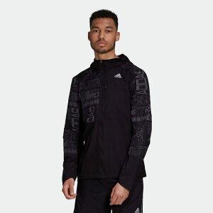 【公式】アディダス adidas ランニング オウン ザ ラン リフレクティブ ジャケット / Own the Run Reflective Jacket メンズ ウェア アウター ジャケット 黒 ブラック FS9811 ランニングウェア
