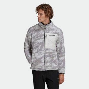 【公式】アディダス adidas アウトドア テレックス エクスプロア シェルパフリース / Terrex Explore Sherpa Fleece アディダス テレックス メンズ ウェア アウター ジャケット グレー GE9912