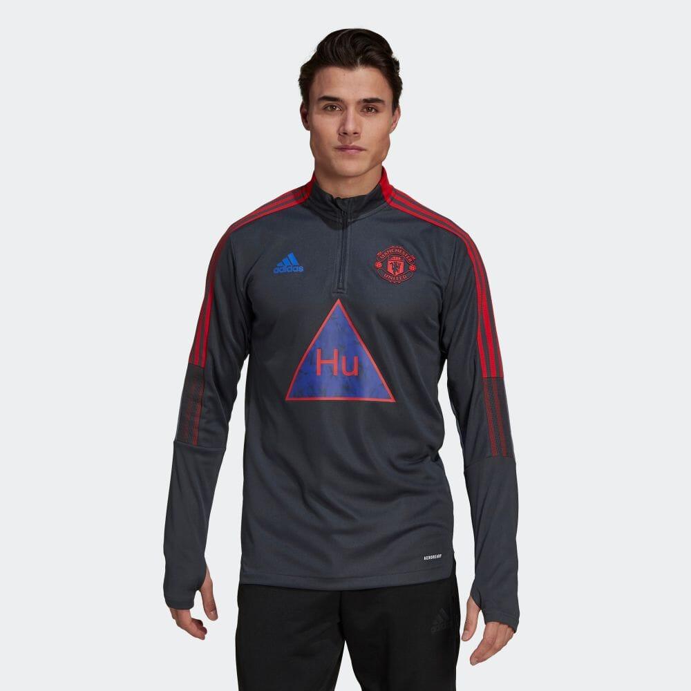 メンズウェア, シャツ  adidas Human Race Manchester United Human Race Training Top GK7722