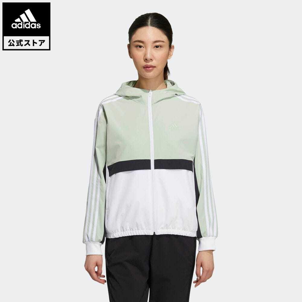 レディースファッション, コート・ジャケット  adidas Hooded Jacket GP0621