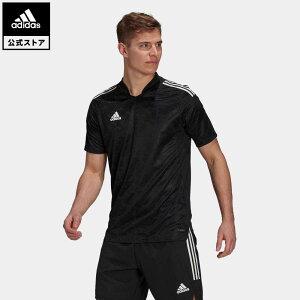 【公式】アディダス adidas 返品可 サッカー Condivo 21 PRIMEBLUE ジャージー / Condivo 21 Primeblue Jersey メンズ ウェア・服 トップス ユニフォーム 黒 ブラック GJ6790
