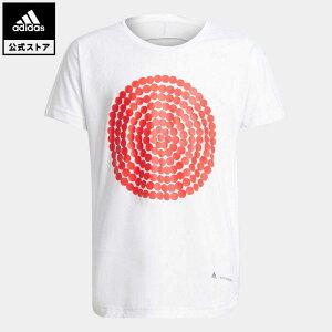 【公式】アディダス adidas 返品可 ジム・トレーニング G AR MM R Tee キッズ ウェア トップス Tシャツ 白 ホワイト H26617 半袖