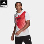 【公式】アディダス adidas 返品可 チームドイツ HEAT. RDY Tシャツ / Team Germany HEAT. RDY Tee メンズ ウェア・服 トップス Tシャツ 白 ホワイト GM8896 mss21fw 半袖