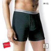 【メール便(30)】 (ヘインズ)Hanes Global Line ボクサーブリーフ 2枚パック メンズ ADIEU