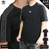 アディダスオリジナルスTシャツ上メンズadidasoriginalsトレフォイル三つ葉3ストライプ半袖26531
